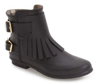 Burberry 'Fritton' Kiltie Rain Boot