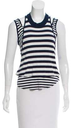Elizabeth and James Striped Sleeveless Top