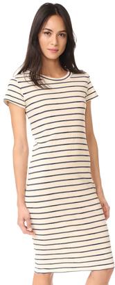 Stateside Striped T Shirt Dress $126 thestylecure.com