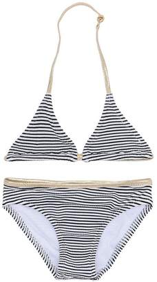 Zadig & Voltaire Kids breton striped bikini