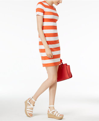 MICHAEL Michael Kors Striped T-Shirt Dress $88 thestylecure.com