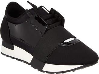 Balenciaga Race Runner Suede Sneaker