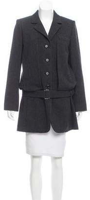 Marc Jacobs Belted Wool Coat