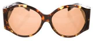 Lanvin Tinted Tortoiseshell Sunglasses