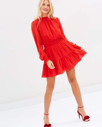 Atmos & Here ICONIC EXCLUSIVE - Marsha High Neck Mini Dress