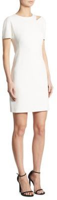 DKNY Shoulder Cutout Dress $159 thestylecure.com
