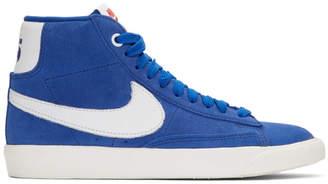 Nike Blue Stranger Things Edition Blazer Mid QS Sneakers