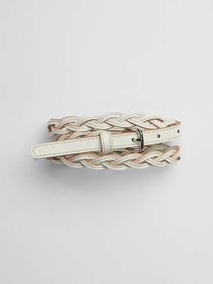 Gap Stitched Braid Belt