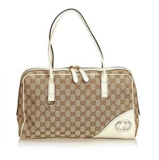 Gucci Vintage New Britt Guccissima Shoulder Bag