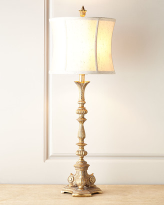 Horchow Silver Etienne Table Lamp