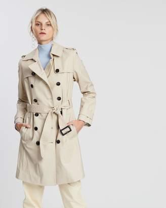 Mng Polanat Trench Coat