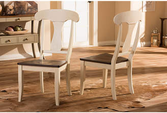 Asstd National Brand Baxton Studio Napoleon Chic Country 2-pc. Side Chair