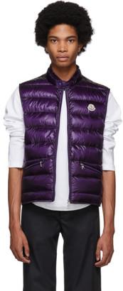 Moncler Purple Down Gui Vest