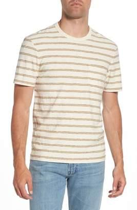 James Perse Vintage Stripe Pocket T-Shirt