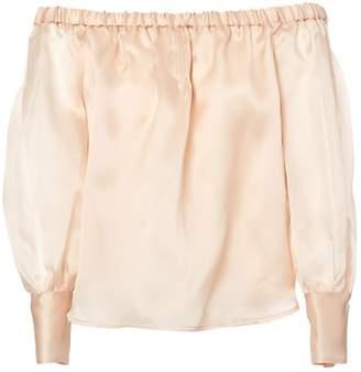 J.Crew Pink Silk Tops