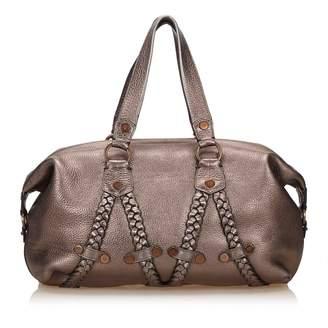 a0ebf9b05cb7 Silver Leather Bag - ShopStyle UK