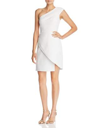 BCBGMAXAZRIA Aryanna One-Shoulder Cocktail Dress