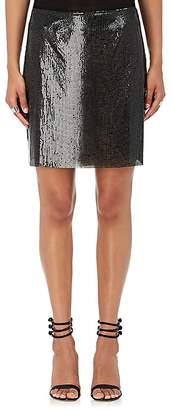 Paco Rabanne Women's Metal Mesh Miniskirt