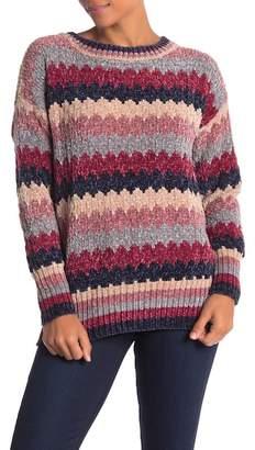 Nostalgia Chenille Crew Neck Sweater