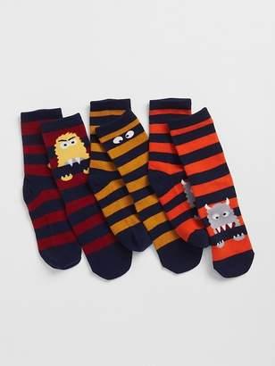 Gap Monster Crew Socks (3-Pack)
