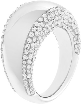 Swarovski Crystal Pebble Ring - Size 7 $149 thestylecure.com