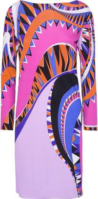 Emilio Pucci Printed Silk-jersey Dress