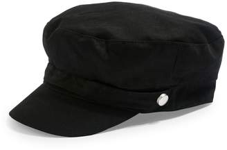 Topshop Cotton Baker Boy Hat