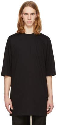 Rick Owens Black Crewneck T-Shirt