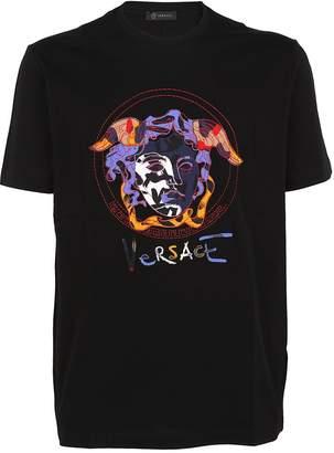 Versace Graffiti Logo T-shirt
