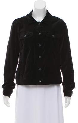 Paige Casual Velvet Jacket w/ Tags