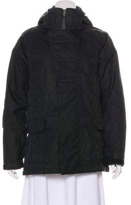 The North Face Hooded Short Coat