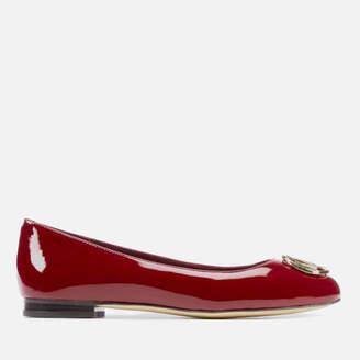 881c70c6ec7d MICHAEL Michael Kors Women s Dena Logo Patent Ballet Flats