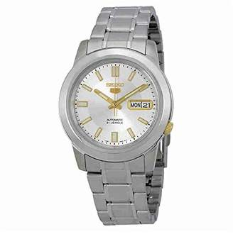 Seiko Men's Metal and Stainless Steel Automatic Watch Winder (Model: SNKK09K1S)