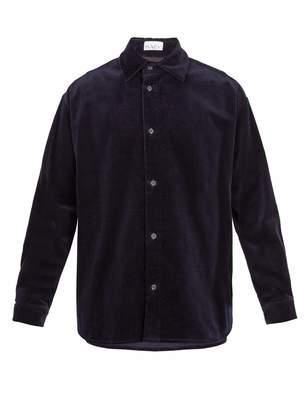 Raey Elephant-corduroy shirt