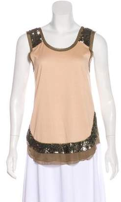 Hoss Intropia Sleeveless Embellished Top