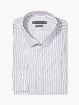 John Varvatos Slim Fit Dobby Stripe Dress Shirt