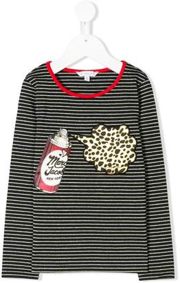 Little Marc Jacobs striped knitted top