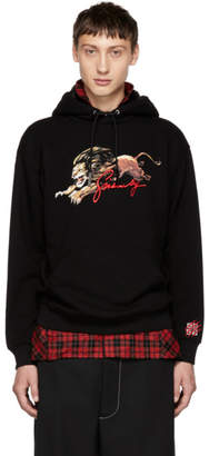 Givenchy Black Lion Graphic Hoodie