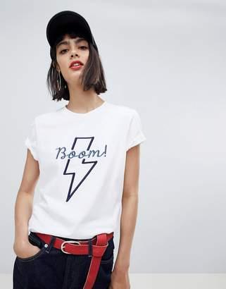 Pieces Slogan T-Shirt