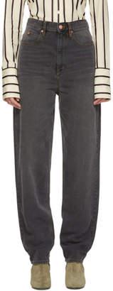 Etoile Isabel Marant Black Corsy Jeans