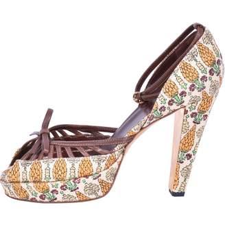 Gucci Cloth sandals