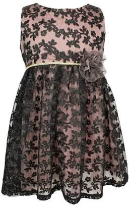 Popatu Lace Fit & Flare Dress