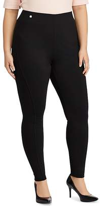 Lauren Ralph Lauren Plus Seamed Ponte Leggings $89.50 thestylecure.com
