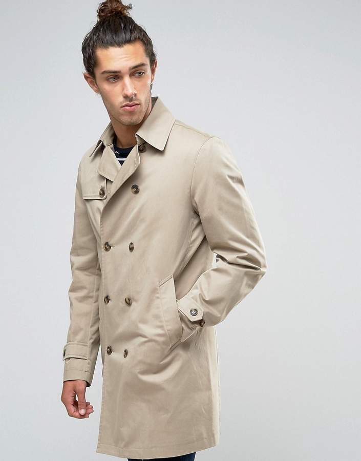 BenettonUnited Colors of Benetton Trench with Detachable Lining