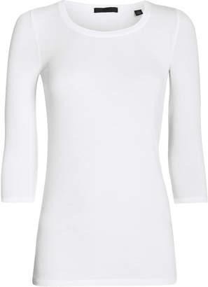 ATM Anthony Thomas Melillo Jackie Ballet Micro Ribbed T-Shirt