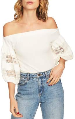 1 STATE 1.STATE Off the Shoulder Knit Top