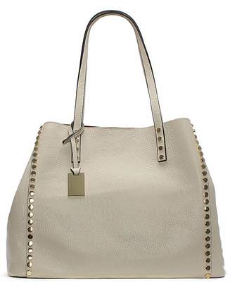 Daniel Footwear Daniel Mooch Leather Studded Tote Bag