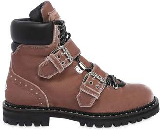 Jimmy Choo 30mm Breeze Velvet Boots