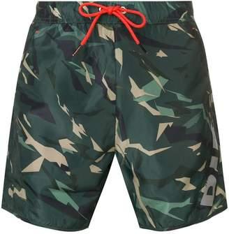 Camouflage Swim Shorts Mens - ShopStyle UK c9e2e33ef