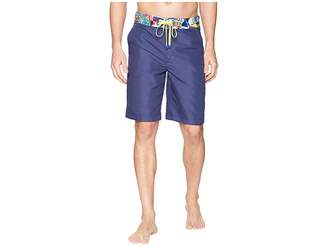 Robert Graham Dos Rios Woven Swim Boardshorts Men's Swimwear